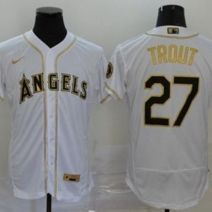 Men's Los Angeles Angels Mike Trout Jersey 2